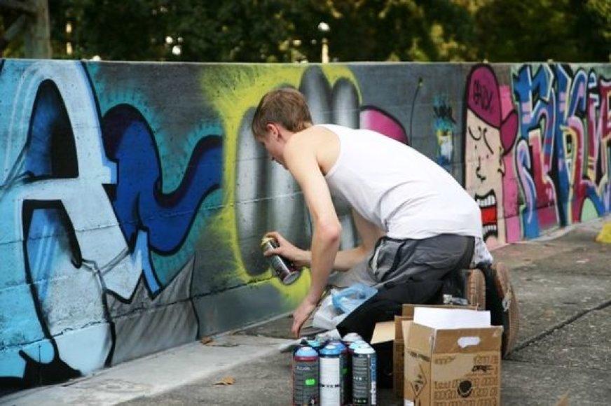 """Festivalyje """"Live From Kaunas Street"""" veiks grafitų fotografijų paroda."""