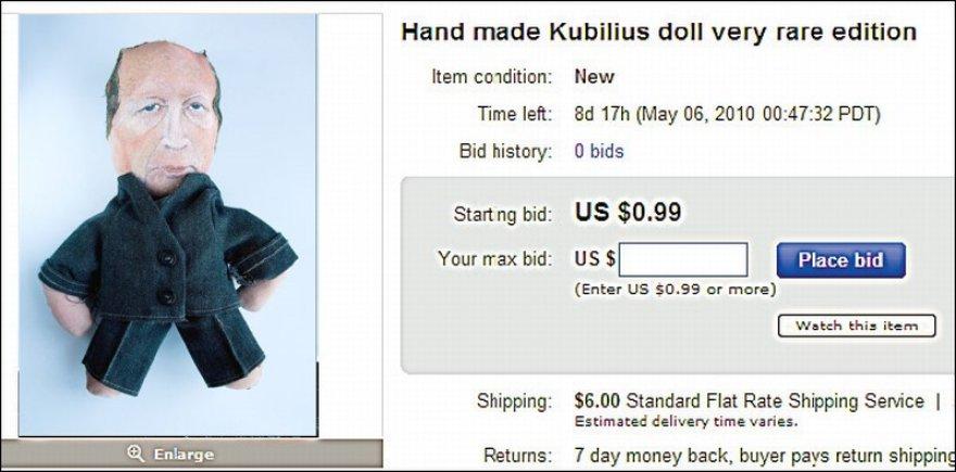 Kubiliaus lėlė