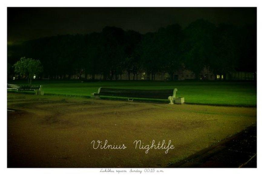 vilnius nightlife postcard 1 lukiskes
