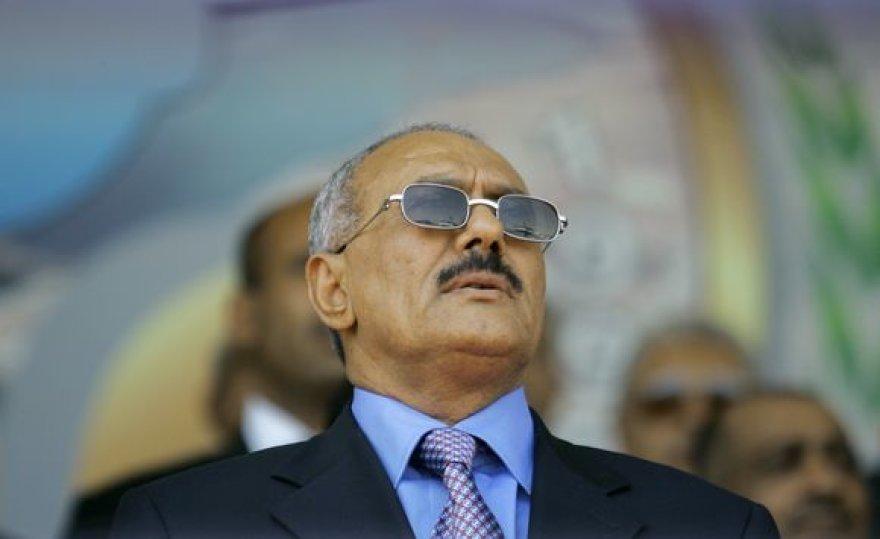 Jemeno prezidentas Ali Abdullah Salehas