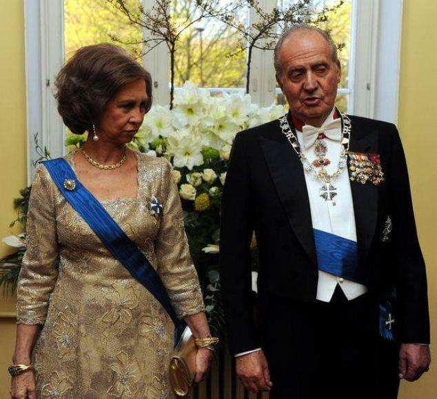 Ispanijos karalius ir karalienė