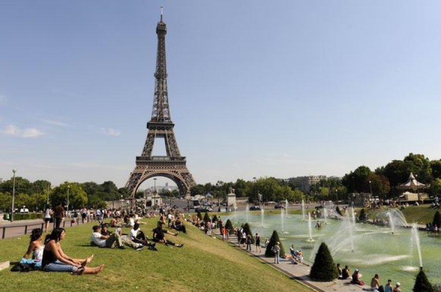 Vasara Paryžiuje