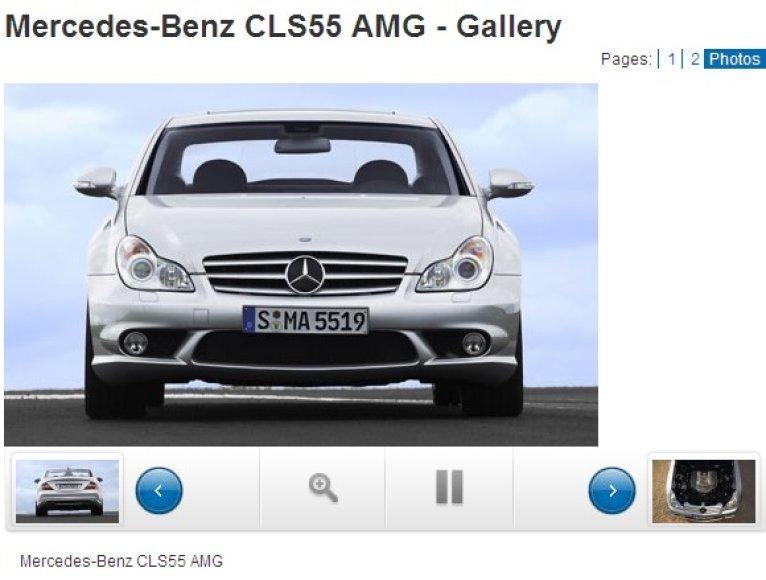 """""""Mercedes Benz CLS55AMG"""""""