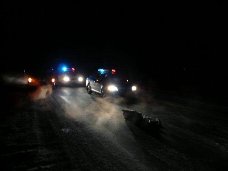 Nelaimės vieta Šiauriniame Ukmergės apvažiavime