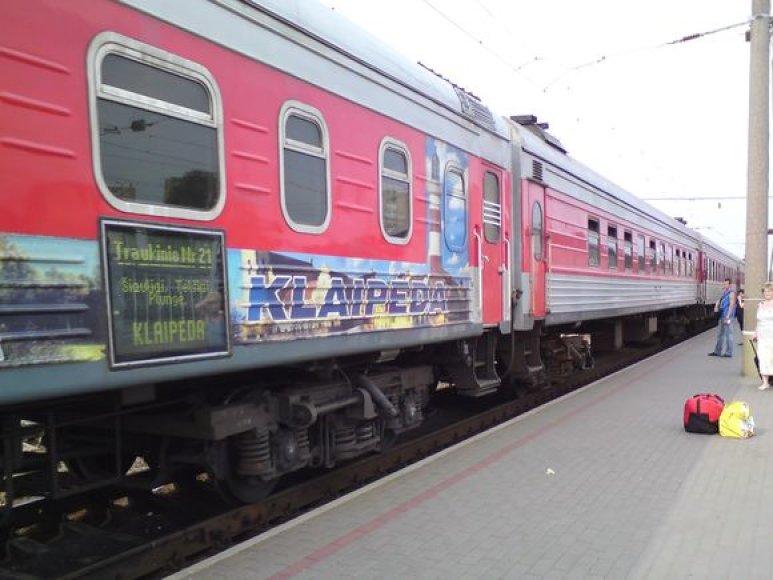 Vilniaus geležinkelio stotis antradienio pavakarę.