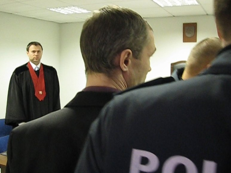A.Stašausko bylą kuruojantis prokuroras Liutauras Rudzevičius.