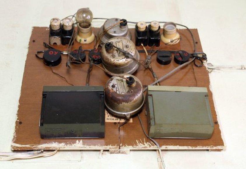 Prieš pusę amžiaus įrengta elektros instaliacija.