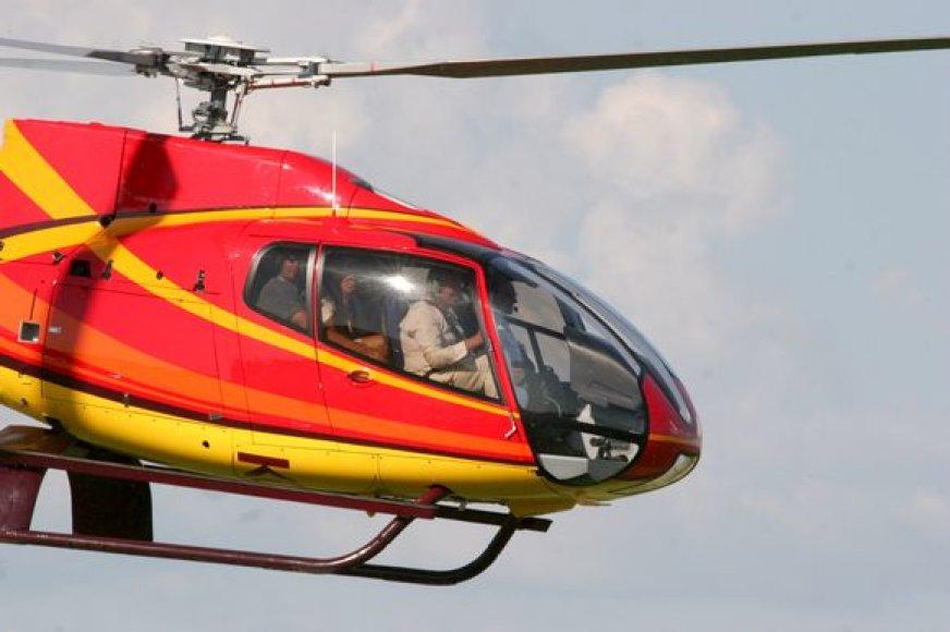Tautvydo Barščio sraigtasparnis