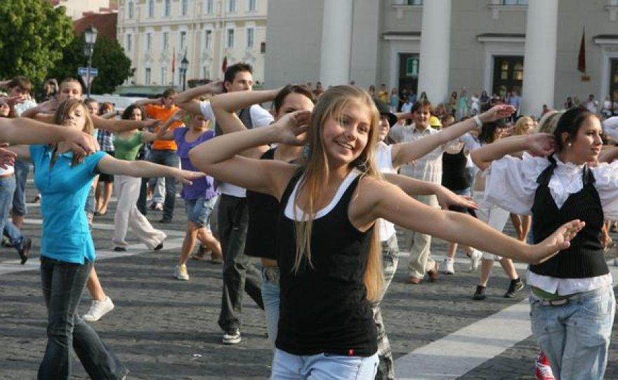 Jaunieji šokėjai