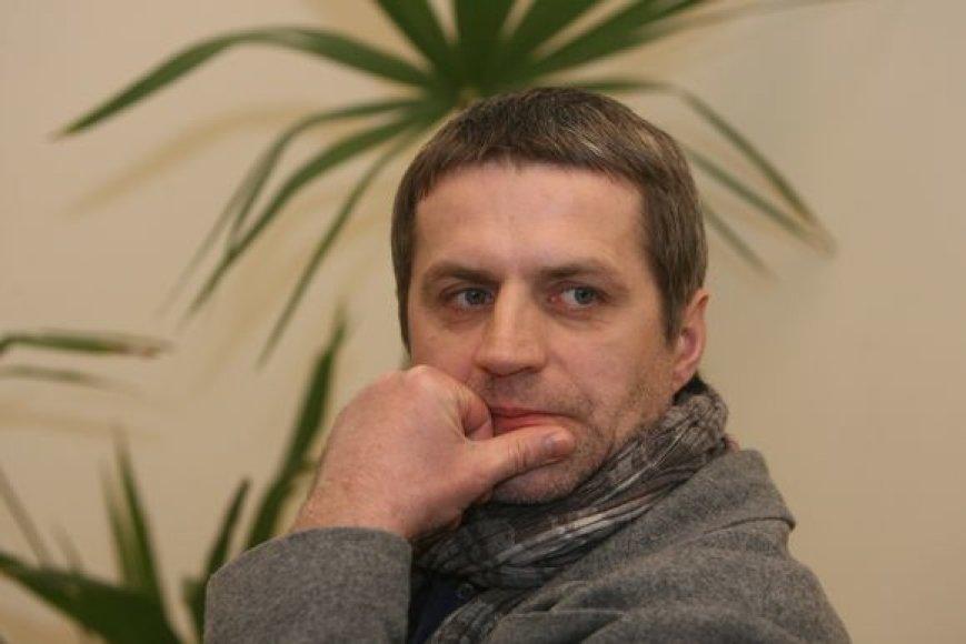 Režisierius ir scenografas Gintaras Makarevičius