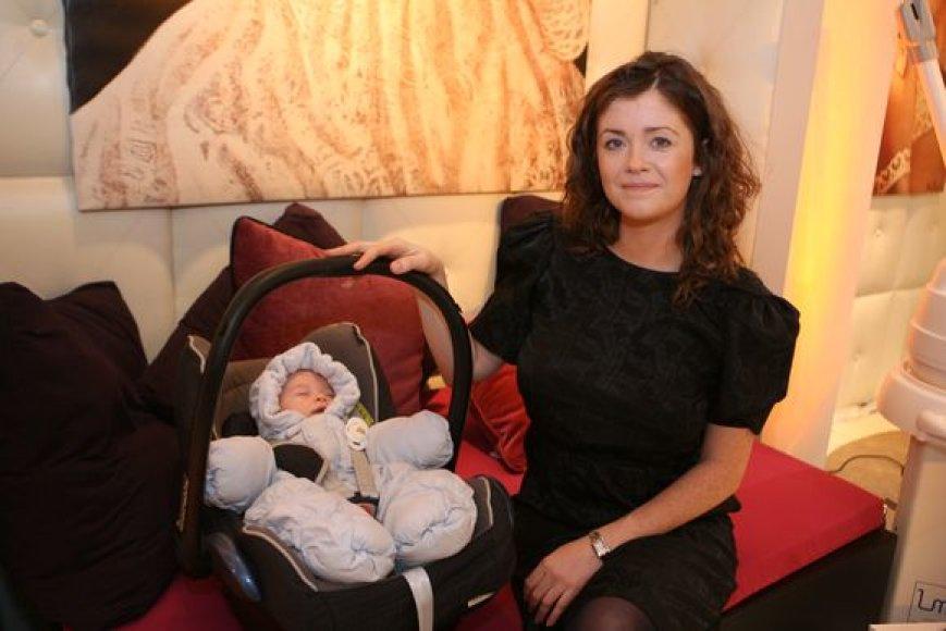 Erica Jennings džiaugiasi, kad ir antrasis sūnus labai ramus