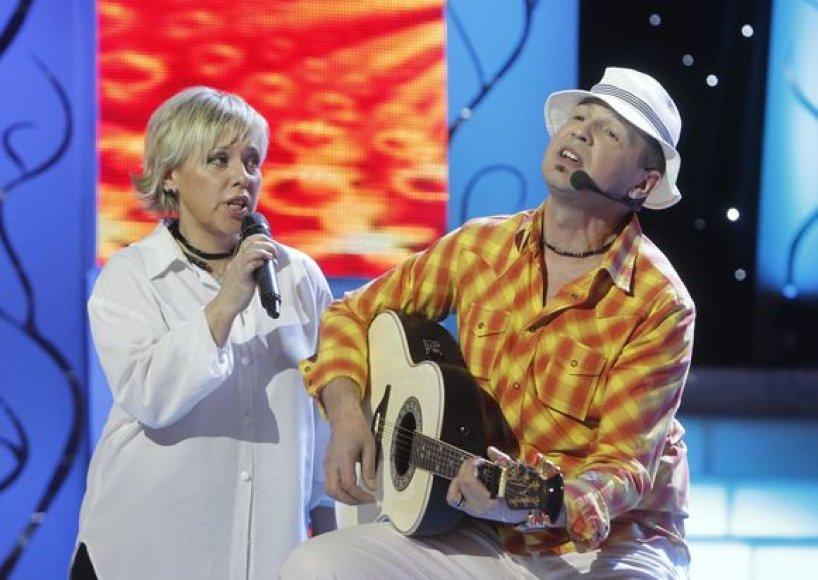 Eurika Masytė ir Ramūnas Difartas
