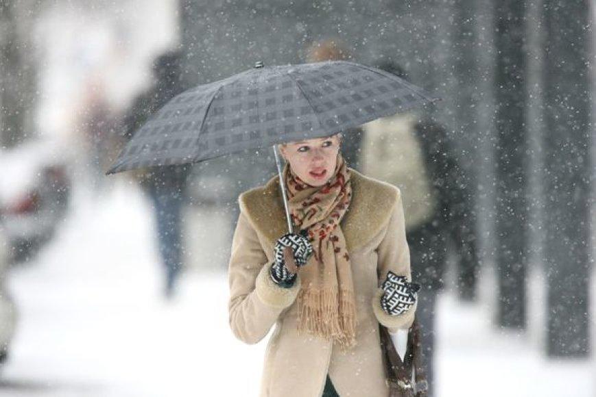 Žiema Vilniuje