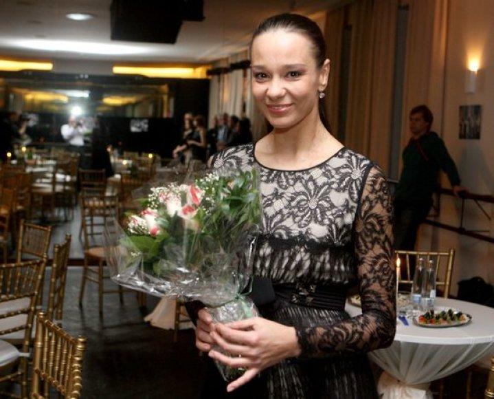 Balerina Eglė Špokaitė su mokiniais surengė jaukų šventinį vakarą