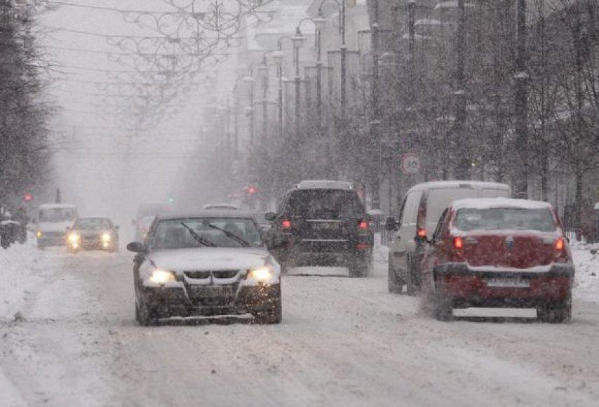 Vaizdai Vilniaus gatvėse