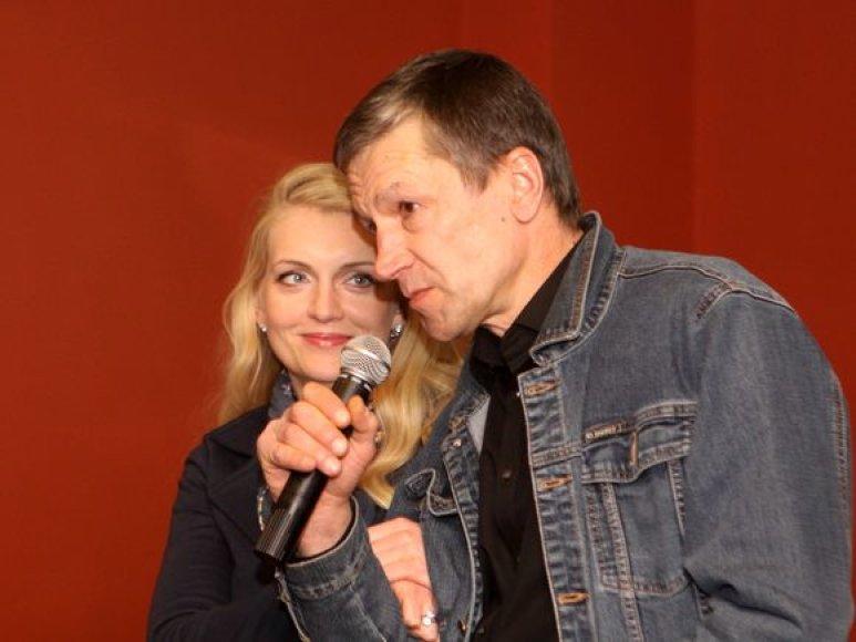 Rūta Ščiogolevaitė ir Saulius Bareikis