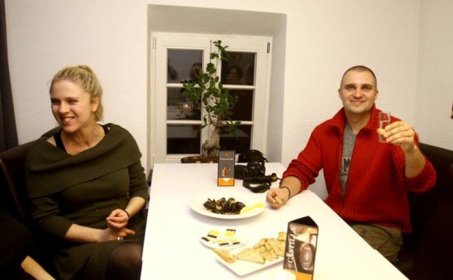 Edita Užaitė ir Linas Ryškus