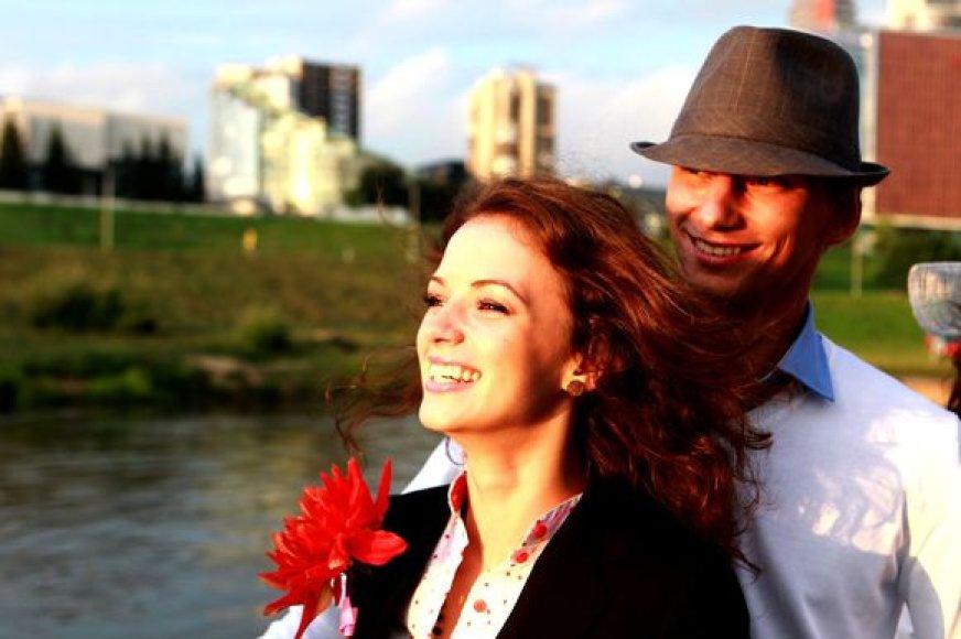 Irūna Puzaraitė ir Rimvydas Černajus