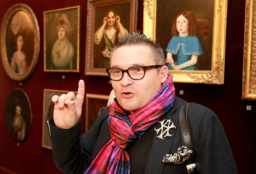 Mados istorikas ir kolekcionierius Aleksandras Vasiljevas