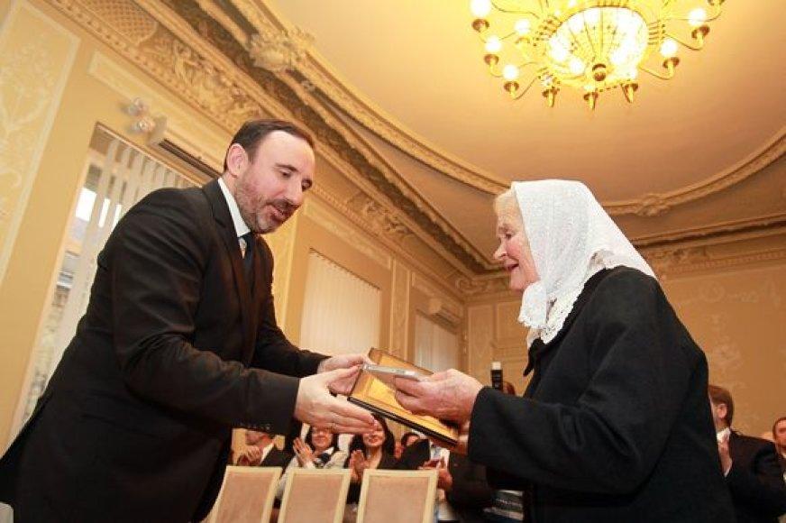 Kultūros ministerijos premija apdovanota Marija Mažeikienė
