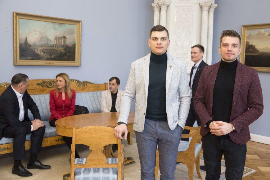 Irmanto Gelūno / 15min nuotr./Rolandas Mackevičius ir Jonas Nainys