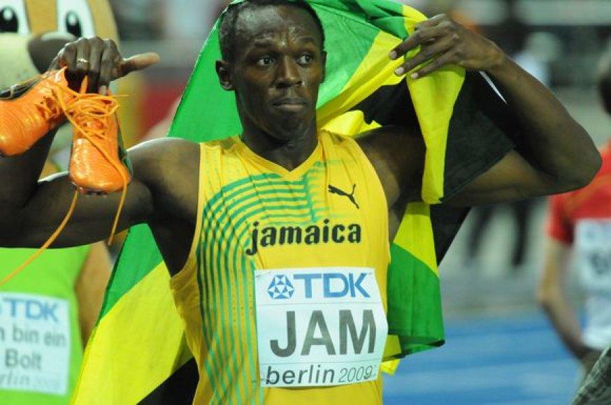 Šį sezoną U.Boltą apkartino nugaros trauma