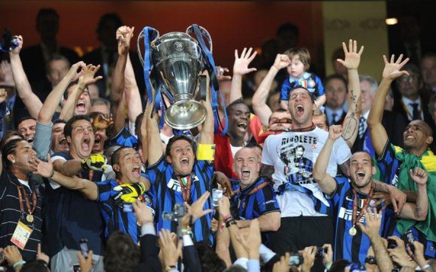 """UEFA Čempionų lygos nugalėtojų taurė – Milano """"Inter"""" rankose"""