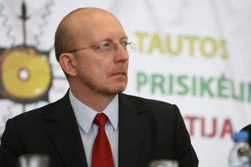 Partijos lyderis Arūnas Valinskas