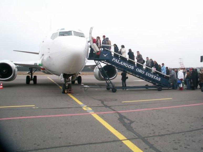 Palangos oro uostas siekia susigrąžinti prieš dvejus metus nutrauktus skrydžius į Vokietiją.