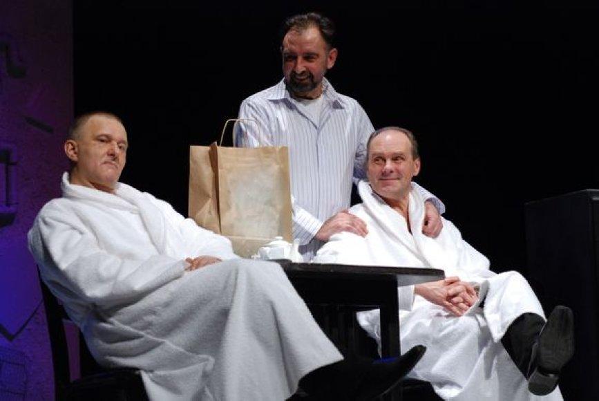 """Spektaklis """"Viskas apie vyrus"""" užbaigs Klaipėdos dramos teatro sezoną."""