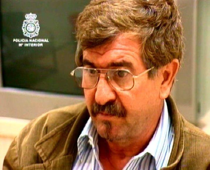Sulaikytas teroristas Juanas Manuelis Inciarte