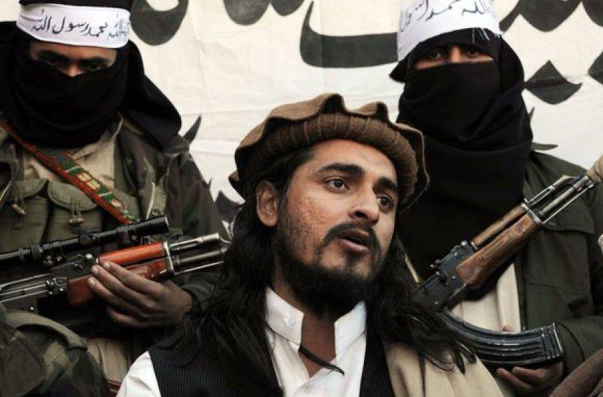 Naujas Talibano lyderis Hakimullah Mehsudas