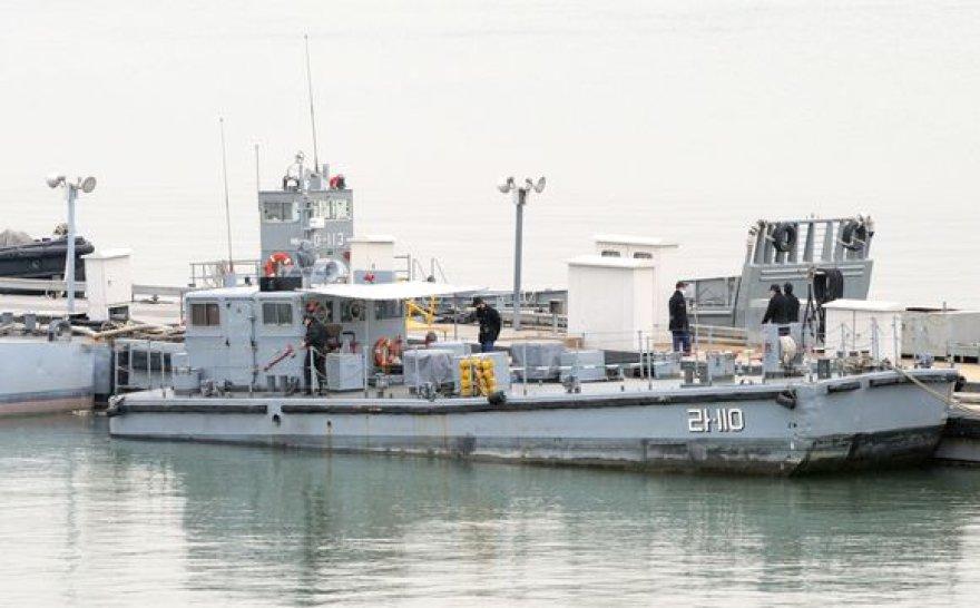 Pietų Korėjos laivai