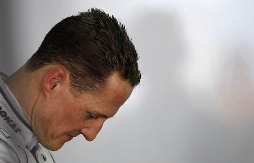 M.Schumacheris lenktynėse