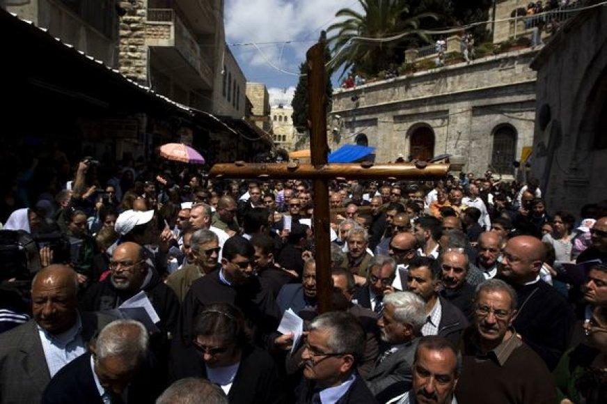 Velykos Jeruzalėje