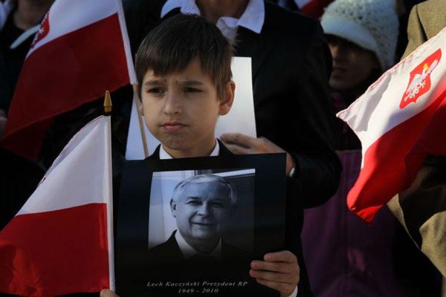 L.Kaczynskio atminimas