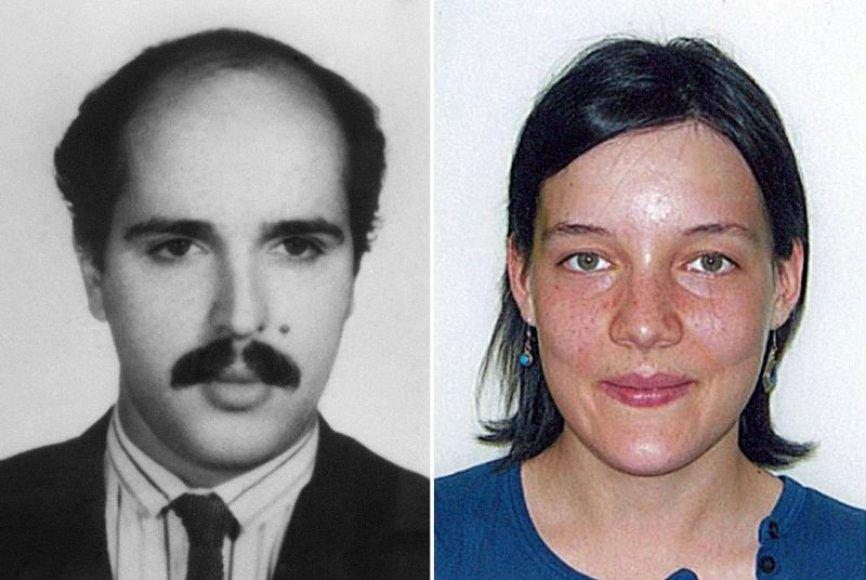 Ali Vakili Radas ir Clotilde Reiss.