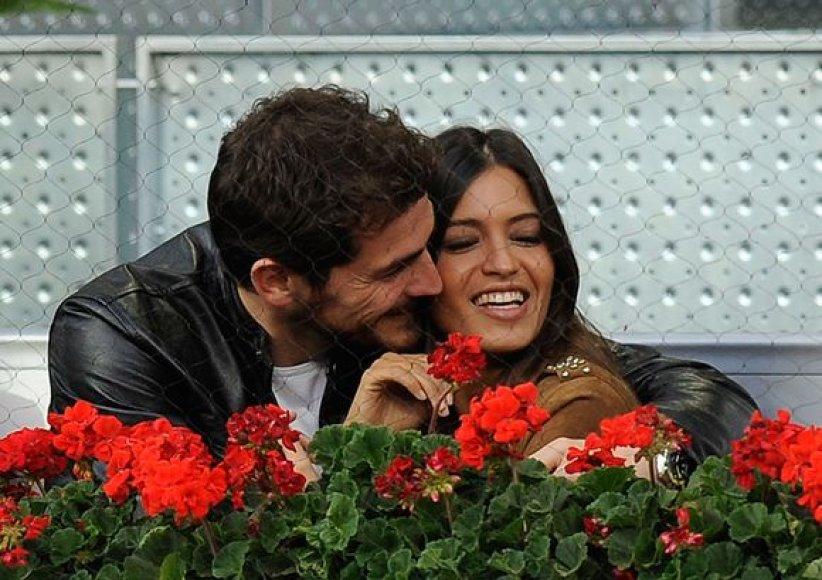 Sara Carbonero ir Ikeris Casillasas