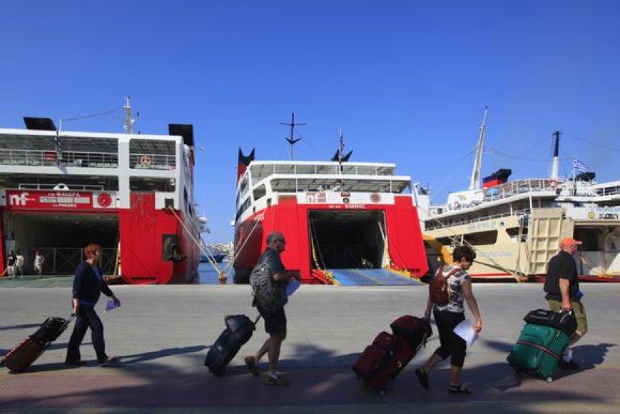 Turistai ir vėl puls į neviltį dėl streikuotojų