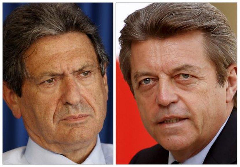 Atsistatydinę ministrai