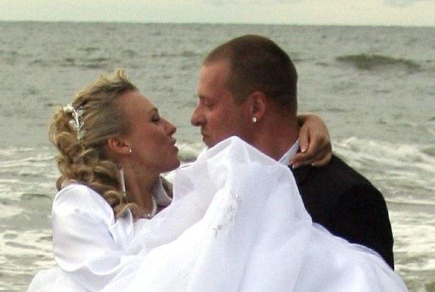 Violetos Riaubiškytės ir Viliaus Tarasovo vestuvės