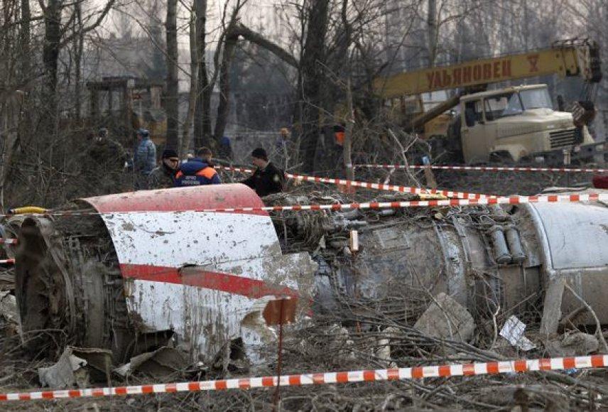 Sudužęs Lecho Kaczynskio lėktuvas