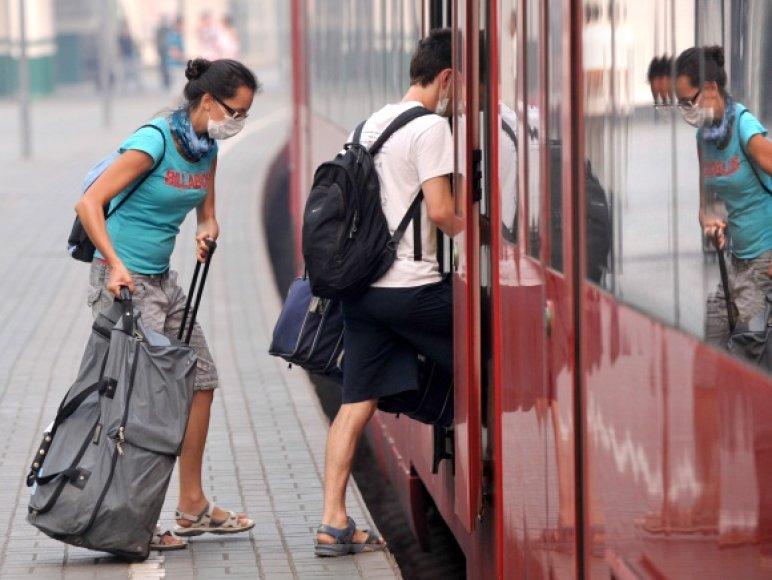 Nors Maskvoje atokvėpis, daugelis vis tiek nori palikti miestą