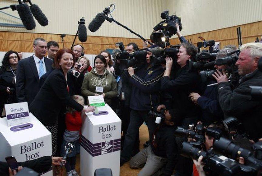 Rinkimai Australijoje