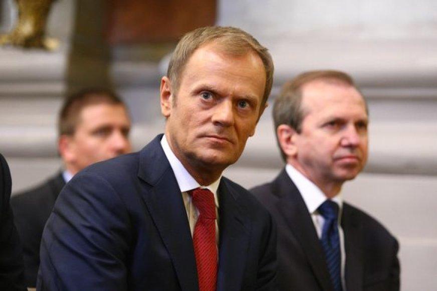 Donaldas Tuskas Vilniuje