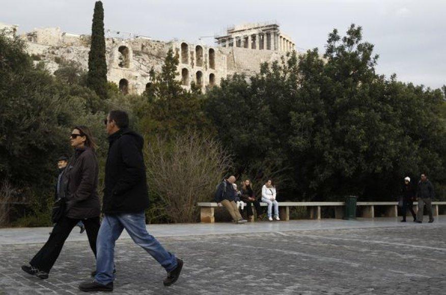 Uždarytas Akropolis