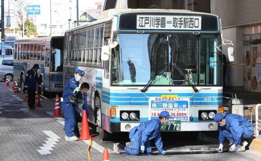 Autobusas, kuriame įvyko incidentas