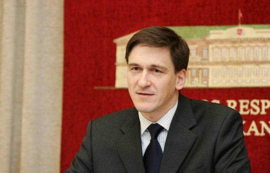 Ūkio ministras Dainius Kreivys