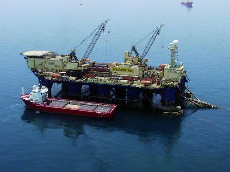 """Teigiama, kad """"Nord Stream"""" poveikis aplinkai bus trumpalaikis."""