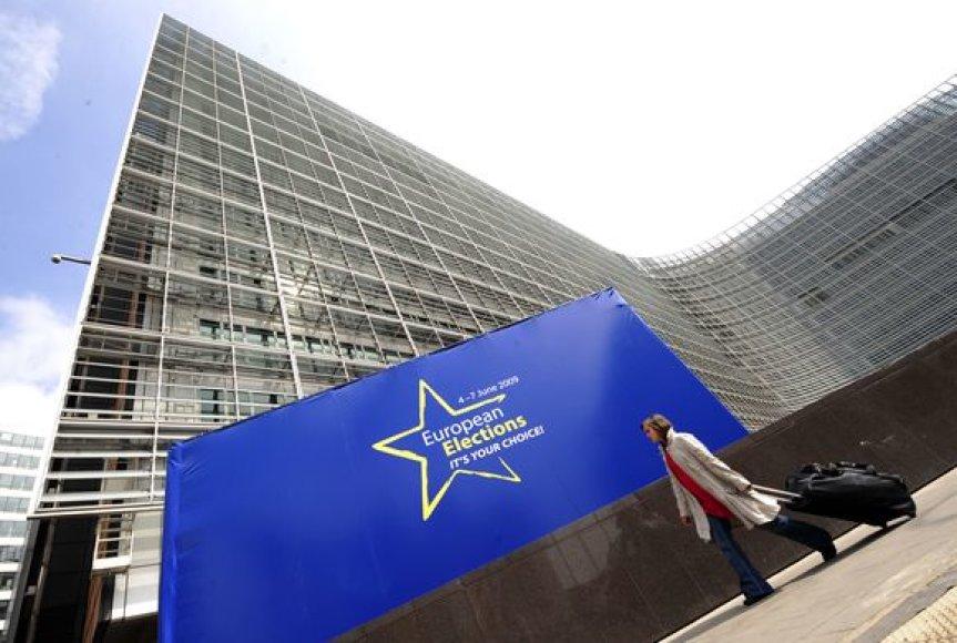 Gaisras kilo Europos Komisijos pastate.
